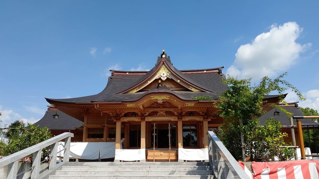 富知六所浅間神社の日待ち祭り