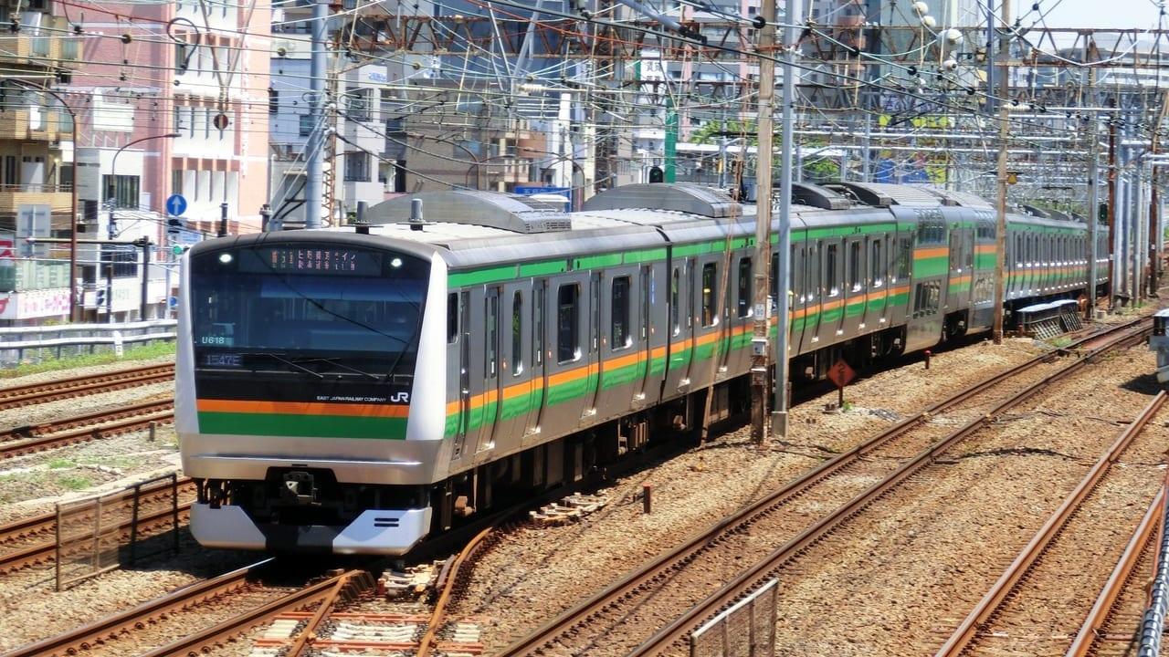 JR東海道本線遅延